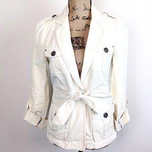 Cartonnier Cotton Linen Jacket - 6
